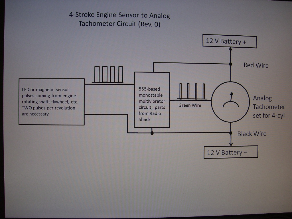 Analog Tachometer In Testing Motorized Bicycle Engine Kit Forum 4 Stroke Wiring Diagram Schematic 100 1637
