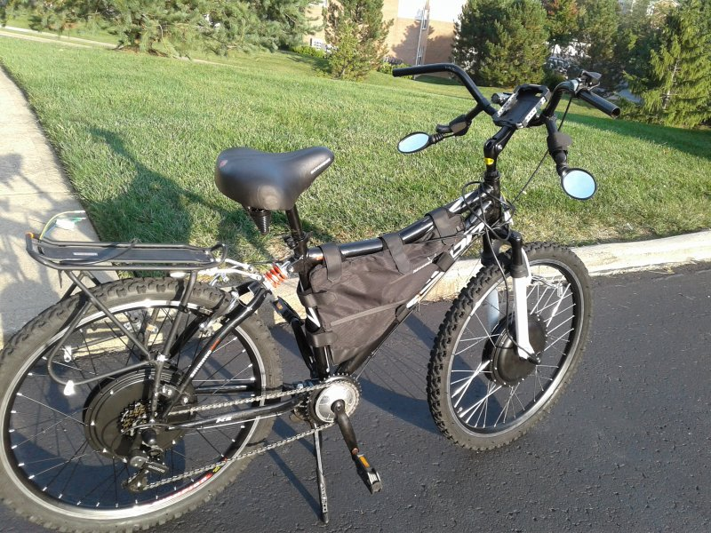 Want to build an AWD eBike with 24v and 48v motors?   Motorized