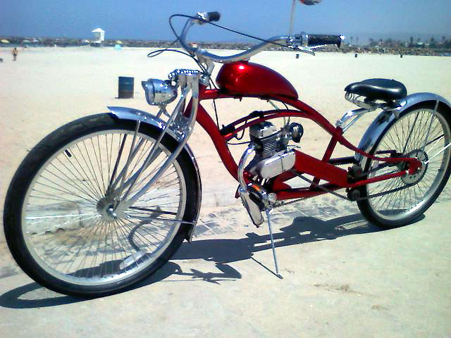 San Diego Stretch Cruiser Motorized Bicycle Engine Kit Forum