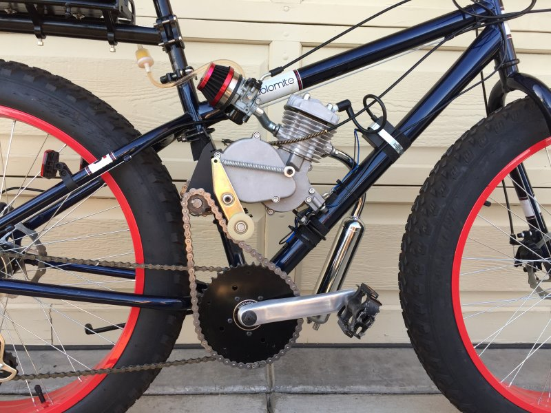 New Guy, New Fat Tire Build | Motorized Bicycle Engine Kit Forum