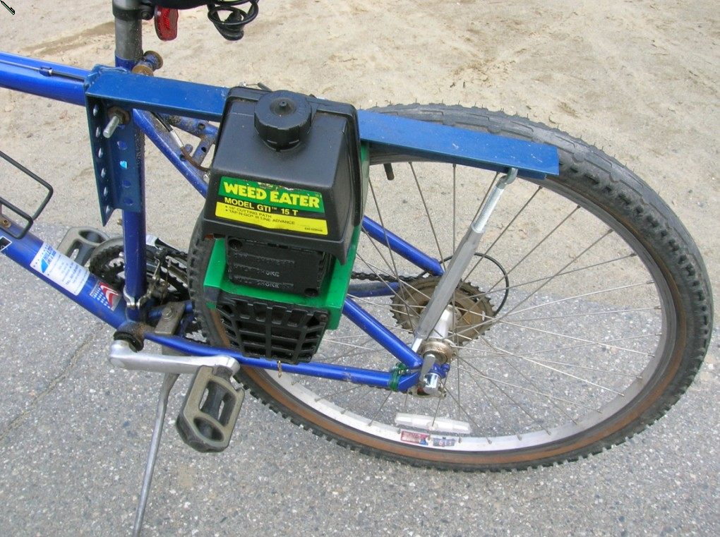 Help Need Ideas On How To Build A Friction Drive Weedeater Powered Bike Motorized Bicycle Engine Kit Forum
