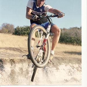 1990 in the half pipe at Mission Trails, Tierra Santa