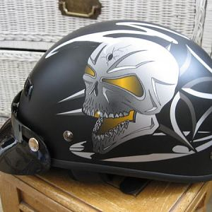 New DOT helmet for Death Race