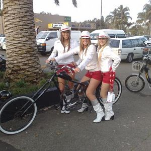 jim beam girls on my chopper