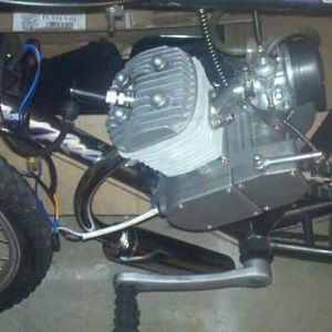 My 80/66cc HT engine with everything stock