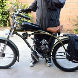 "Micargi Huntington, Nuvinci 360 rear cvp hub, front and rear avid BB5 disc brakes(160mm), 1gal tank, 24x3 Electra ""Fatti-O"" Tires, upgraded carb w/ re"