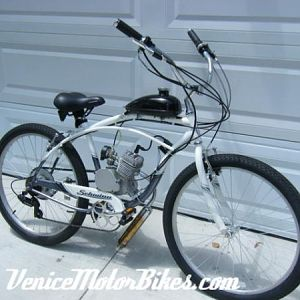 Motorized Schwinn Jaguar 7-speed