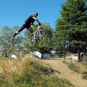 one foote x-up. BMX!!!