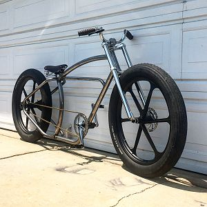 Imperial x peek cycles motorized bike build