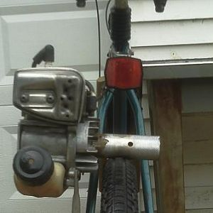 Need to post some new pics.  Since this shot I've shaved the flywheel vanes down 