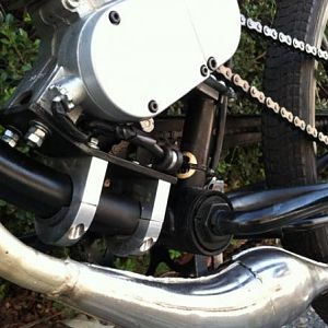 HD Motor mount- homemeade