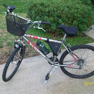 This is the Bike I put together from various parts. The frame is Schwinn. 