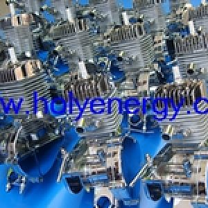 chrome plated bicycle engine kit