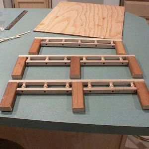 3 0F 4 RAILS FOR FLATBED