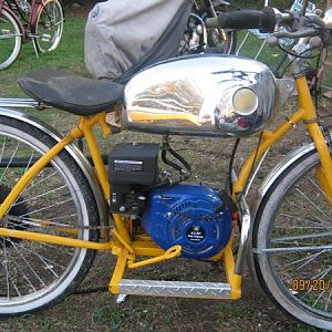 3 speed 6.5 hp Monarch bike 001