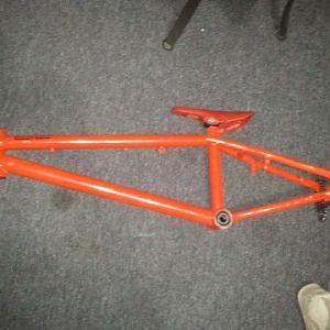 New bmx frame I got today, its a specialized
