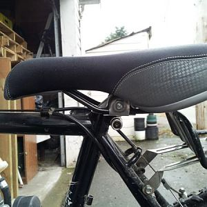 Replacement post (lowest height).