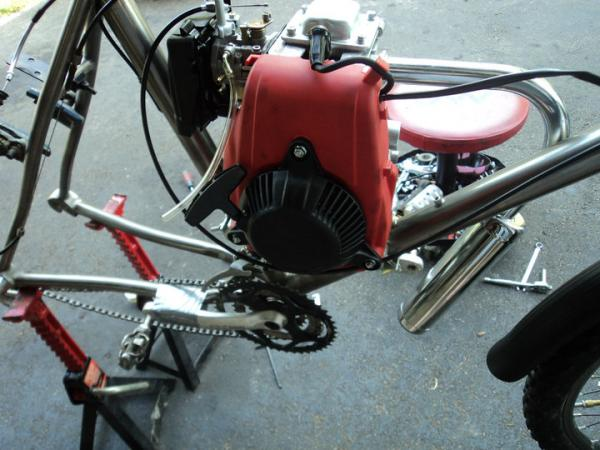 2nd build/4-stroke: A long ways away  | Motorized Bicycle