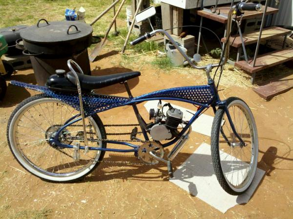 And project wiffle-bike is a blast.  Think Im gonna have to devise a springer banana seat.