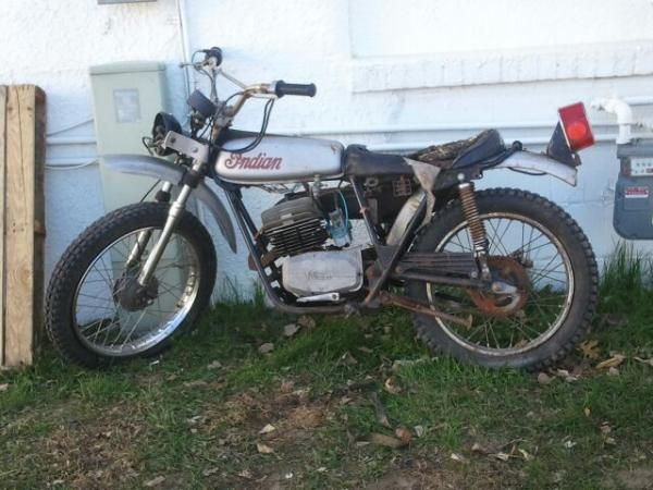 Hehe, 1972 indian 125-5 speed.