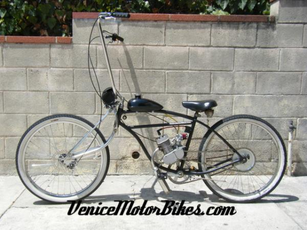 Motorized 1955 Schwinn 'Voodoo Chopper'