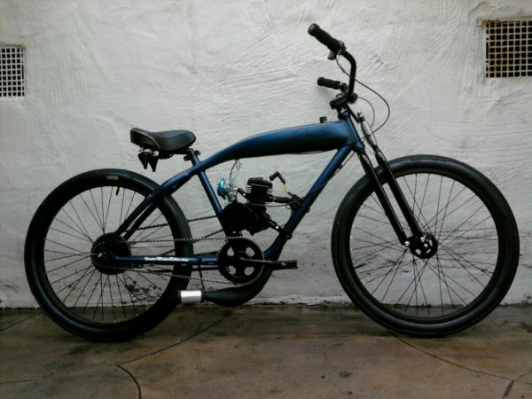 Motorized Felt Slater (before the shifter kit & 8-speed hub)