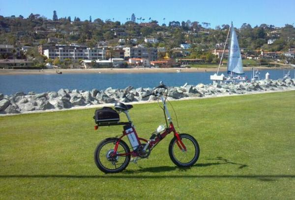 My 2010 Busettii Mini-40 folding electric bike